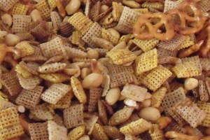 Homemade Chex Mix with Recipe