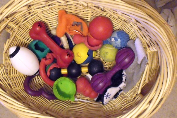 Brodys' Basket of Toys
