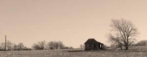 Lonely Homestead in Nebraska