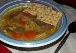 Homemade Chicken Soup with Recipe