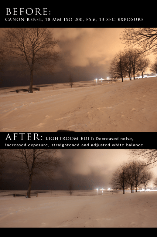 Professional Photographers edit in Lightroom or Photoshop for the best results