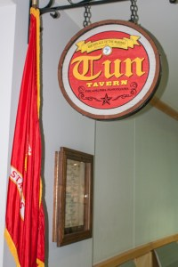Replica of Tun Tavern, home of the Marine Corps Birthday