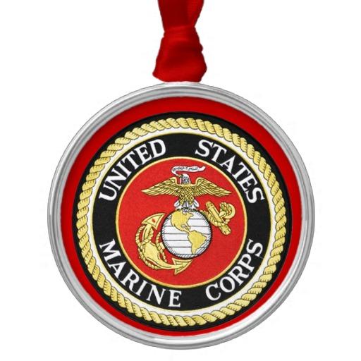 USMC Ornaments - 3 Quarters Today