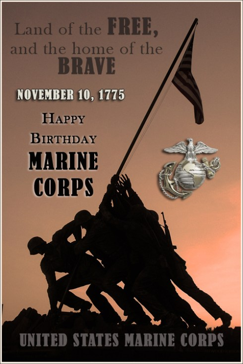 Happy Birthday Marine Corps