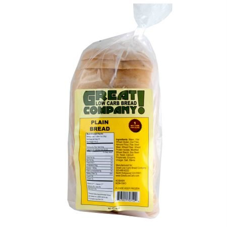 Great Low Carb Bread Co. - Plain - 1 Loaf