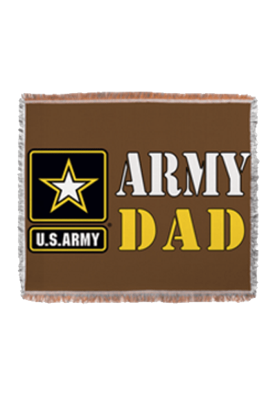 Army Dad blanket
