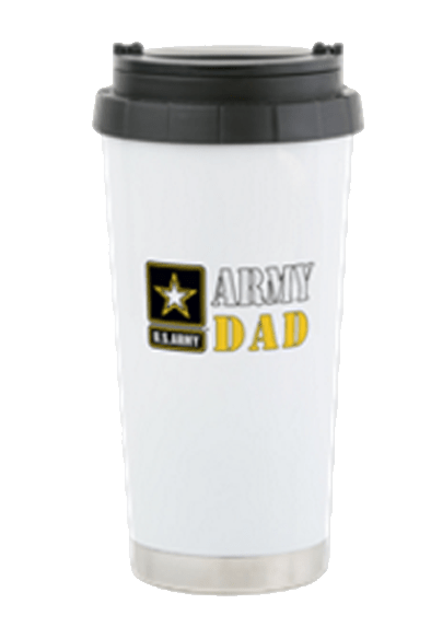 Army Dad Coffee travel mug
