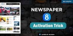 شرح  تنصيب و تفعيل قالب  8.2 Newspaper  للوورد بريس  مجانا