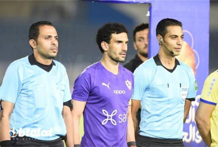 محمد-عواد-يشكر-شيكابالا-على-شارة-القيادة-في-مباراة-الإسماعيلي