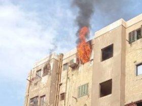 إخماد-حريق-شقة-سكنية-فى-مصر-القديمة-دون-إصابات