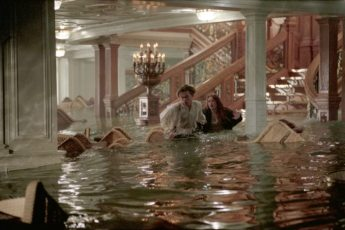 Image result for titanic the movie kate wading and swimming
