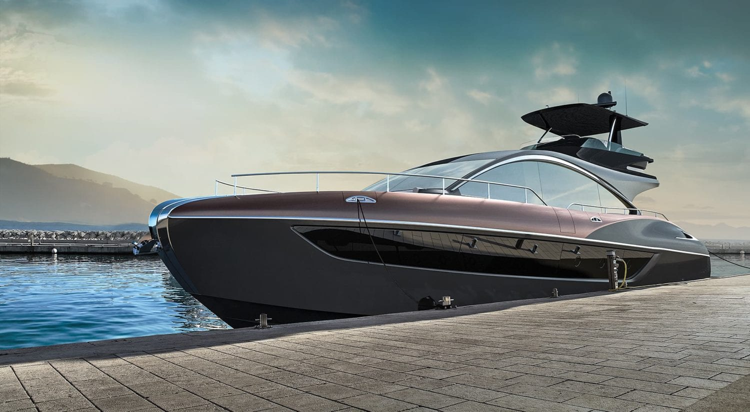 Lexus Unveiled Its First Luxury YachtTake A Look Inside