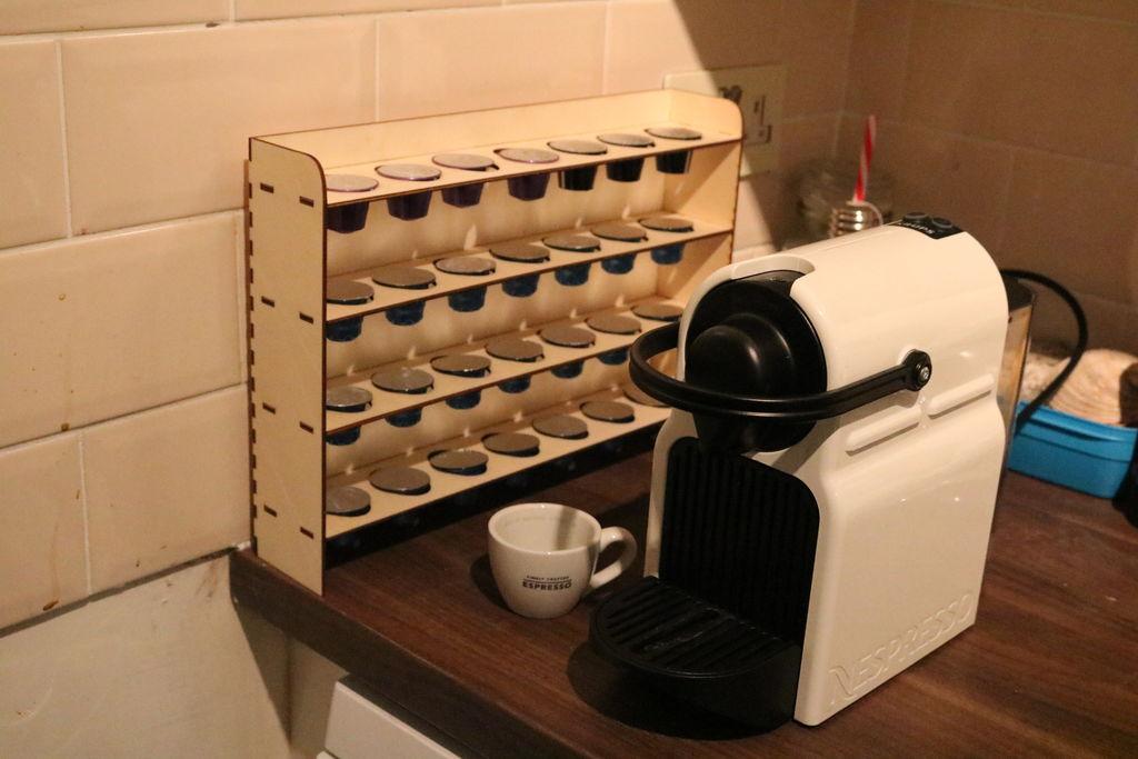 coffee pod rack free vector cdr