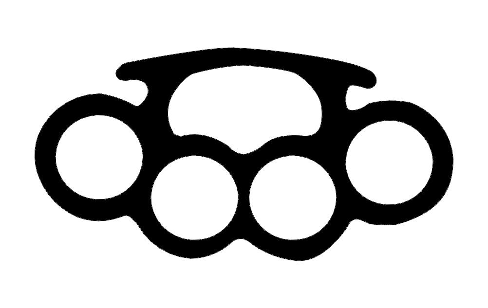 Free Split Monogram Silhouette