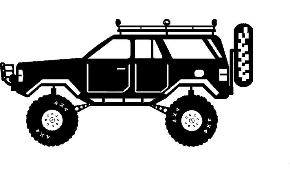 Bank Monster Truck Piggy