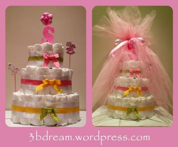 selin diaper cake