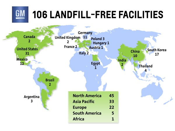 GM Expands Landfill-Free Efforts in Asia | 3BL Media