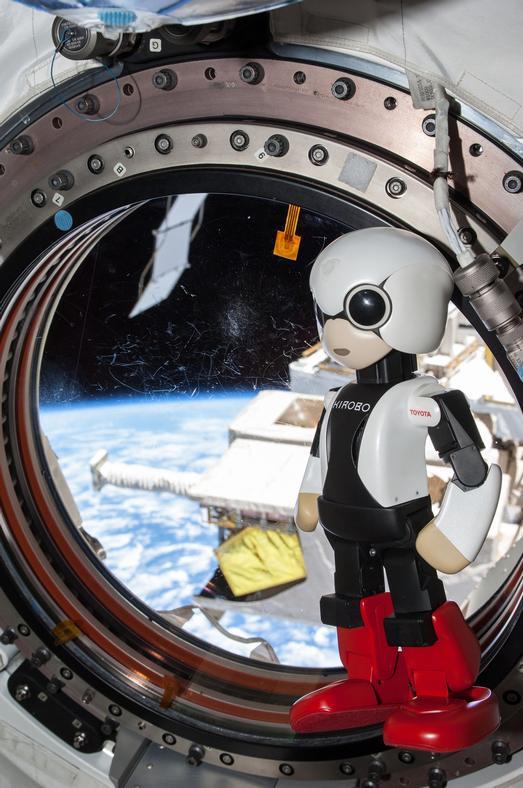 Mission Accomplished Robot Astronaut Kirobo Returns to