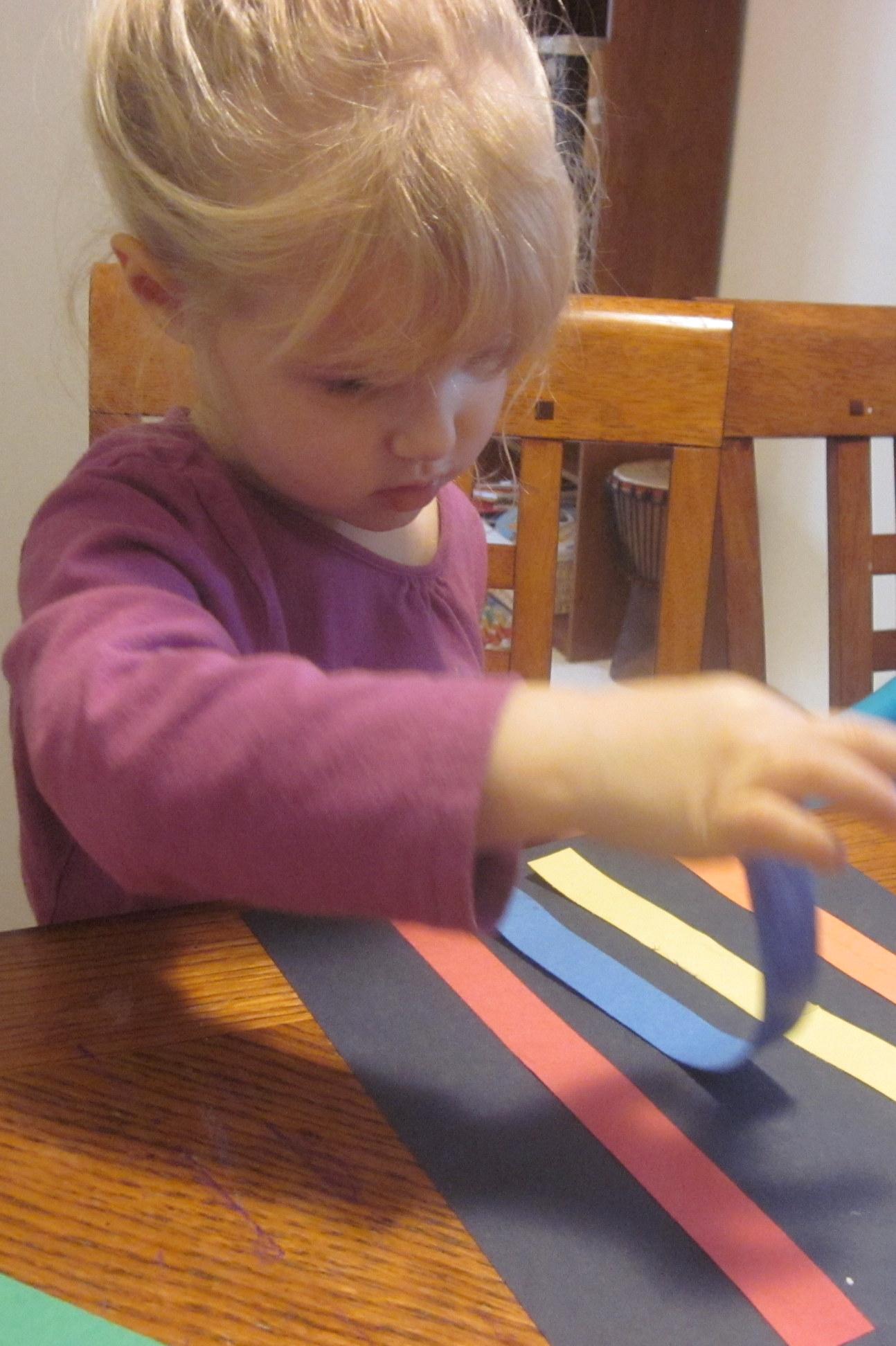 R Is For Rainbow Craft Project Preschool Alphabet 3