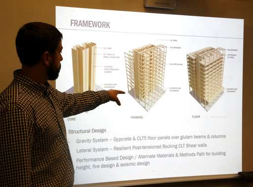 Oregon city approves permit for US' first all-wood high-rise