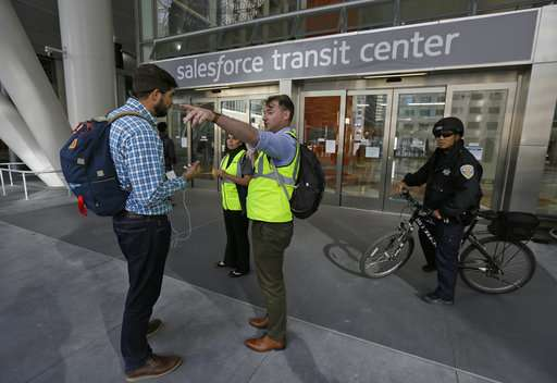 Engineers search for cause in cracked beam at transit hub