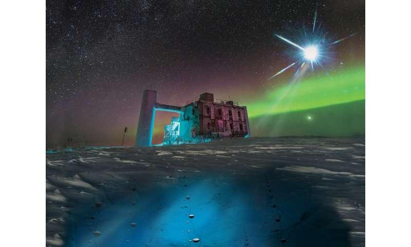 Los neutrinos IceCube apuntan al acelerador de rayos cósmicos buscado durante mucho tiempo