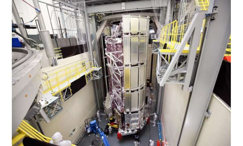 NASA's James Webb Space Telescope emerges successfully from final thermal vacuum test
