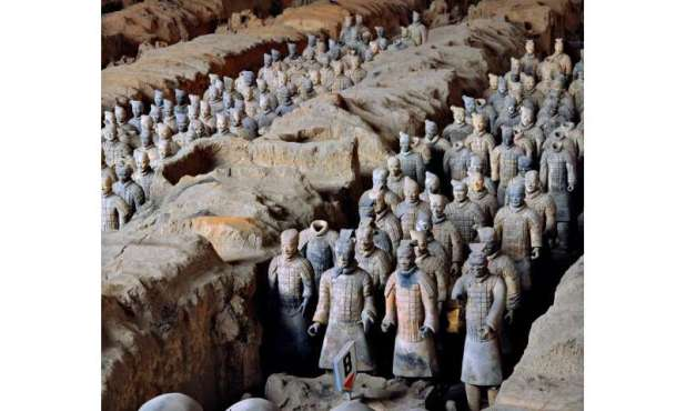 Scientists shed light on the mystery of the preservation of weapons of the Terracotta Army