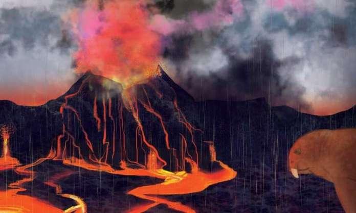 Neue Beweise deuten darauf hin, dass Vulkane das größte Massensterben aller Zeiten verursacht haben