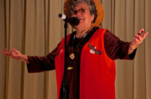 Elaine Grinnell presents at PCC Cascade, Moriarty Arts Auditorium