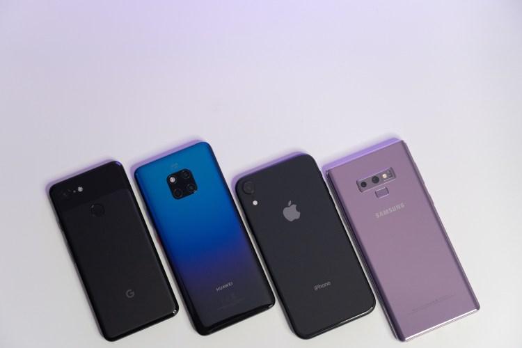 iPhone XR、Pixel 3、Note 9、Mate20 Pro 夜拍對決!!
