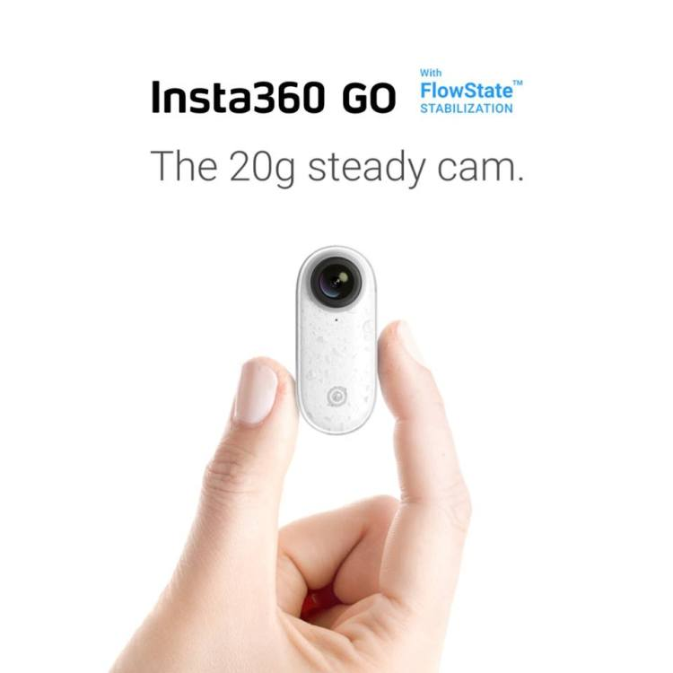 【快訊報報】短影片潮流!不到 20g的防震相機 Insta360 GO 台灣上市售價$7,199