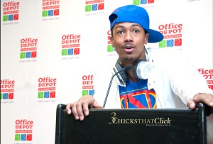 Nick Cannon for the Office Depot Foundation, NYC, 8/23/13