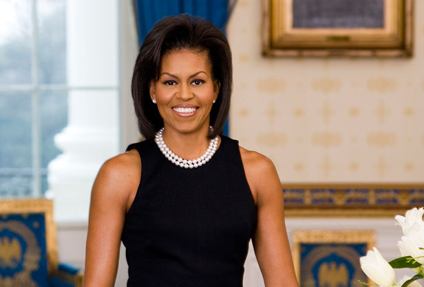 USA - Politics - Official Portrait of First Lady Michelle Obama