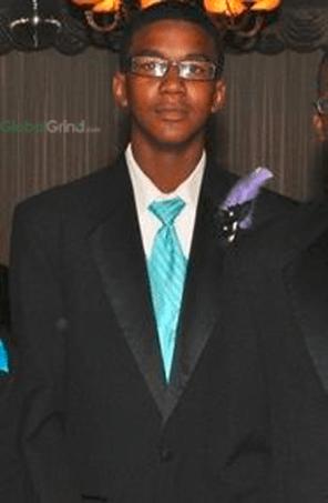 Trayvon Martin's Prom Picture
