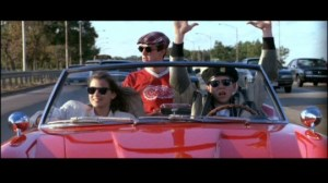 ferris bueller-5 the car