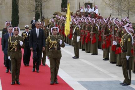 Potus arrives in Jordan31