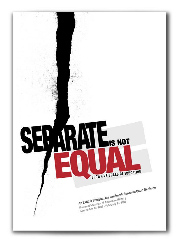 Seperate-not EQUAL