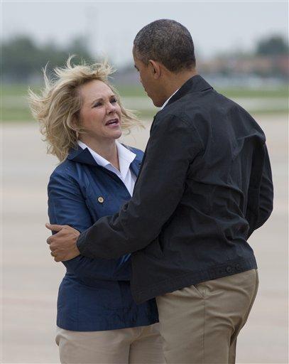 Barack Obama, Oklahoma Gov. Mary Fallin