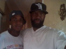 Trayvon Martin and Father Tracy 2012
