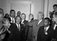 Dr. Martin Luther King Jr., Roy Wilkins