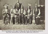 Red Cloud delegation