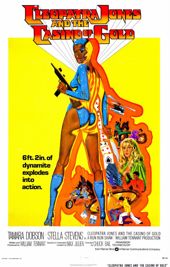 cleopatra jones and casino gold poster