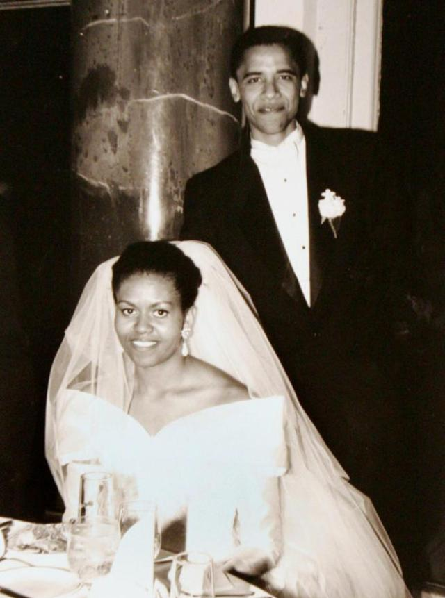 first couple wedding pic