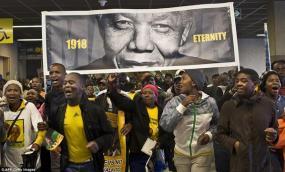 Memorial Service for Mandela 65