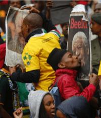 Memorial Service for Nelson Mandela 68