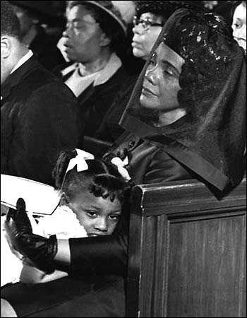 Dr King- Coretta Scott King MLK Funeral