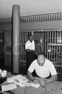 Dr. Martin Luther King, Jr. and Reverend Abernathy in Jail