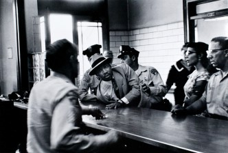 Dr King- Martin Luther King being arrested by police