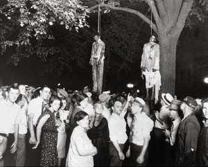 black people lynched